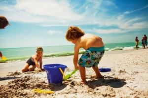 Bambini Spiaggia Viareggio